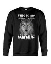 Wolf Costume  Crewneck Sweatshirt front