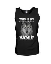 Wolf Costume  Unisex Tank thumbnail