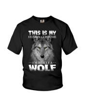 Wolf Costume  Youth T-Shirt thumbnail