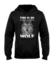 Wolf Costume  Hooded Sweatshirt thumbnail