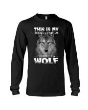 Wolf Costume  Long Sleeve Tee thumbnail
