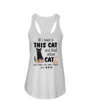 Cat - All I need are cats Ladies Flowy Tank thumbnail