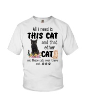 Cat - All I need are cats Youth T-Shirt thumbnail
