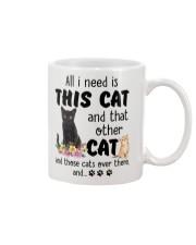 Cat - All I need are cats Mug thumbnail