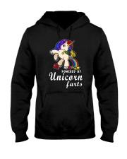 Unicorn Powered Hooded Sweatshirt thumbnail