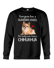 Angel Chihuahua Crewneck Sweatshirt thumbnail