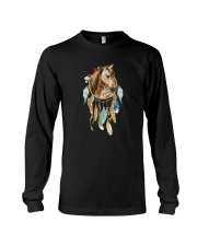 Horses - Color Dreamcatcher Long Sleeve Tee thumbnail