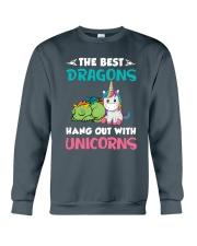 Dragon And Unicorn Crewneck Sweatshirt thumbnail