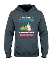 Dragon And Unicorn Hooded Sweatshirt thumbnail