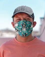 Boston Terrier Tropical H31715 Cloth face mask aos-face-mask-lifestyle-06