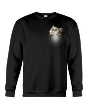 Cute Cat Pocket Crewneck Sweatshirt thumbnail