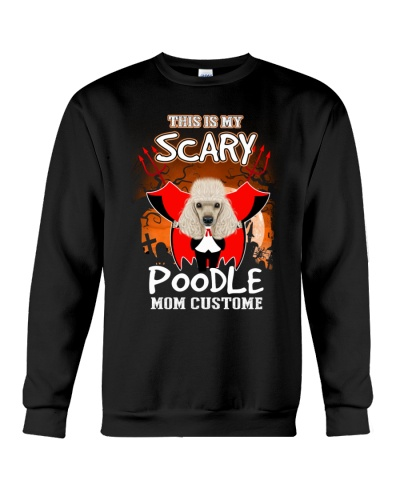 Poodle Scary Custome