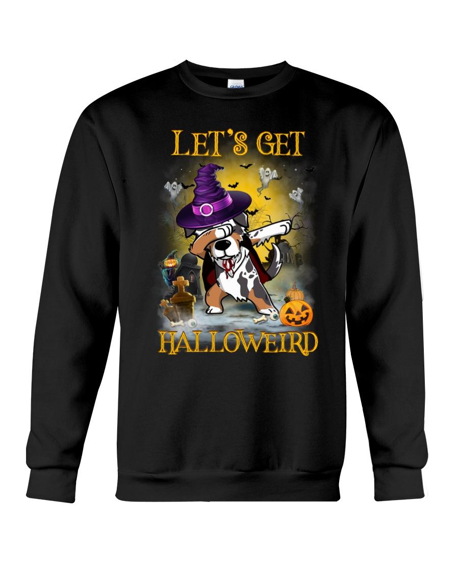 Australian Shepherd Let's get Halloweird Crewneck Sweatshirt