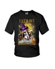 Australian Shepherd Let's get Halloweird Youth T-Shirt thumbnail