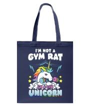 Unicorn Gym Tote Bag thumbnail