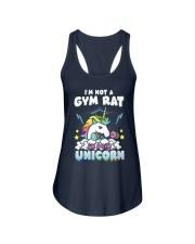 Unicorn Gym Ladies Flowy Tank thumbnail