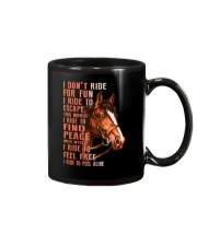 Horses-Ride To Feel Alive Mug tile