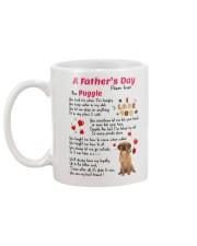 Puggle Poem Mug back