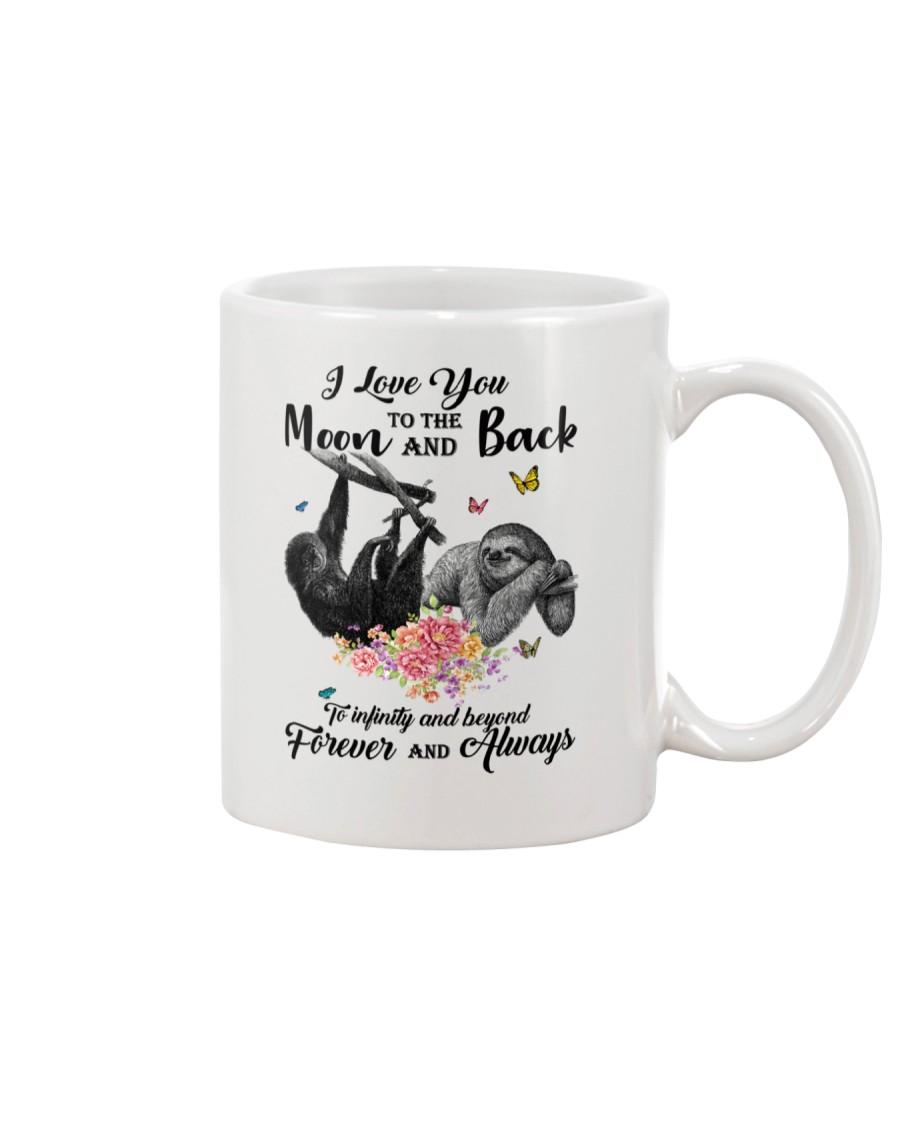 Sloths Love You Moon And Back Mug