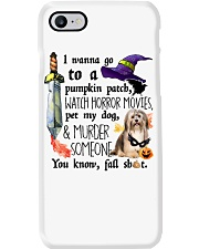 Havanese Pet My Dog Halloween Phone Case thumbnail