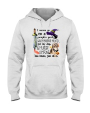 Havanese Pet My Dog Halloween Hooded Sweatshirt thumbnail