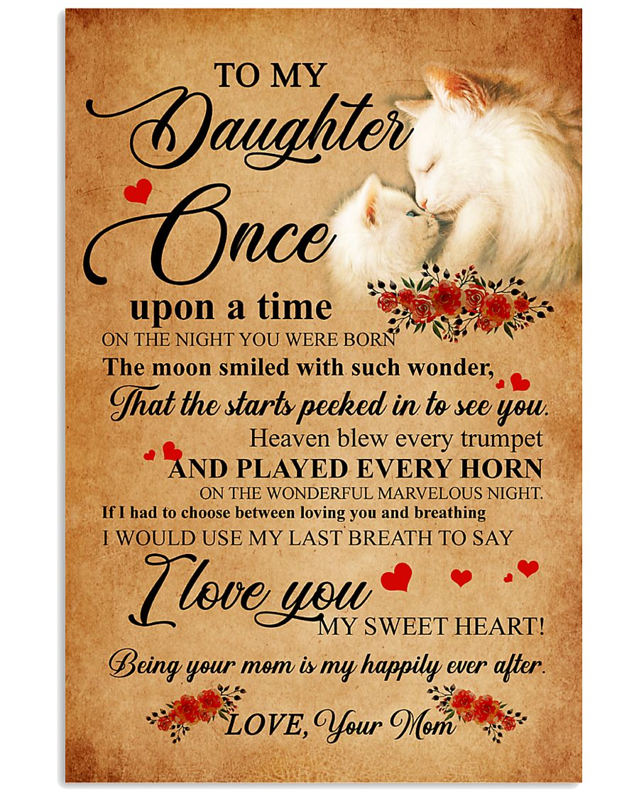 Cat To My Daughter Once Upon A Time 11x17 Poster