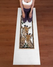 Giraffe Family T5TF Yoga Mat 24x70 (vertical) aos-yoga-mat-lifestyle-24