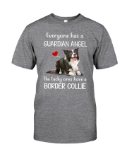 Border Collie Guardian Angel Classic T-Shirt front