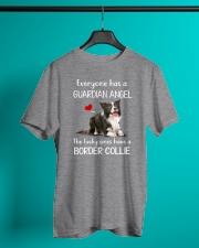 Border Collie Guardian Angel Classic T-Shirt lifestyle-mens-crewneck-front-3