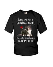 Border Collie Guardian Angel Youth T-Shirt thumbnail