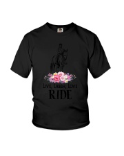 Horse Live - Love - Laugh - Ride Youth T-Shirt thumbnail