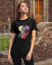 Owl Flower  Classic T-Shirt apparel-classic-tshirt-lifestyle-06