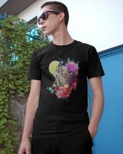 Owl Flower  Classic T-Shirt apparel-classic-tshirt-lifestyle-17