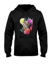 Owl Flower  Hooded Sweatshirt thumbnail
