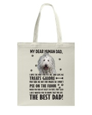 Komondor Dear Human Tote Bag thumbnail