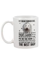 Komondor Dear Human Mug back