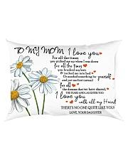 Family - To My Mom Rectangular Pillowcase back