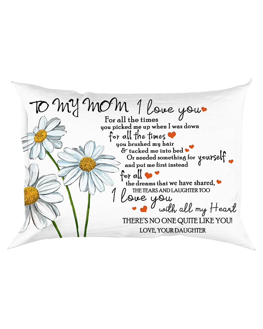 Family - To My Mom Rectangular Pillowcase