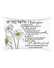 Family - To My Mom Rectangular Pillowcase front