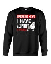 DOGS - POODLE - BREAKING NEWS Crewneck Sweatshirt thumbnail