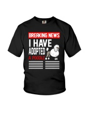DOGS - POODLE - BREAKING NEWS Youth T-Shirt thumbnail