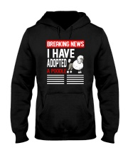 DOGS - POODLE - BREAKING NEWS Hooded Sweatshirt thumbnail