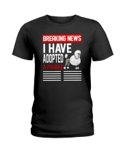 DOGS - POODLE - BREAKING NEWS Ladies T-Shirt thumbnail