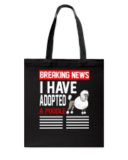 DOGS - POODLE - BREAKING NEWS Tote Bag thumbnail