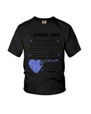 Family My Angel Dad Youth T-Shirt thumbnail