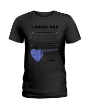 Family My Angel Dad Ladies T-Shirt thumbnail