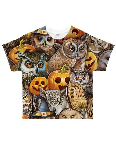 Owl And Pumpkin