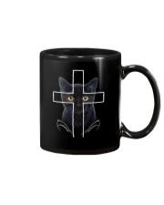 Black Cat Cross Mug thumbnail