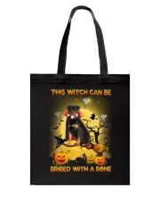 Rottweiler Bribe me with a bone Tote Bag thumbnail