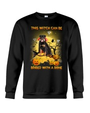 Rottweiler Bribe me with a bone Crewneck Sweatshirt front